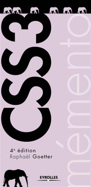 Mémento CSS3 - eyrolles - 9782212674323 -