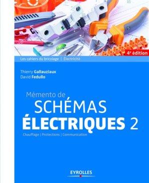 Mémento de schémas électriques 2 - eyrolles - 9782212676051