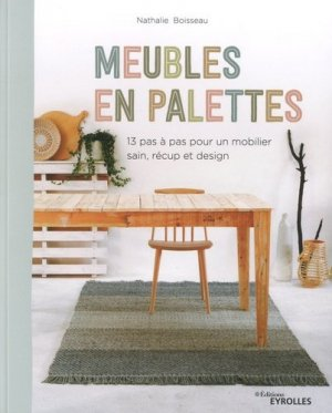 Meubles en palettes - Eyrolles - 9782212677799 -