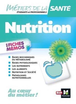Métiers de la santé - Nutrition - IFSI - DEI - Révision - foucher - 9782216158508 -