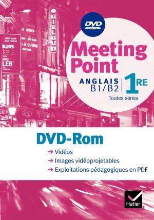 Meeting point Anglais 1re : DVD Vidéo - hatier - 9782218938009
