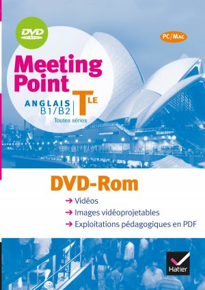 Meeting Point Anglais Terminale : DVD Rom - hatier - 9782218951633