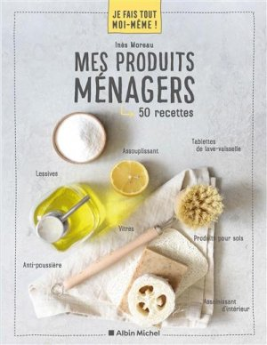 Mes produits d'entretien - Albin Michel - 9782226459565 -