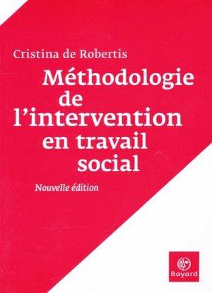 Méthodologie de l'intervention en travail social - bayard - 9782227476356 -