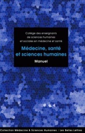 Médecine, santé et sciences humaines - les belles lettres - 9782251430263 -