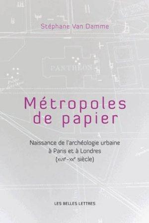 Métropoles de papiers - les belles lettres - 9782251444468 -