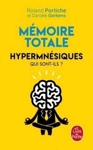 Mémoire totale - le livre de poche - lgf librairie generale francaise - 9782253257448 -