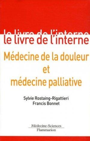 Médecine de la douleur et médecine palliative - lavoisier msp - 9782257000569 -