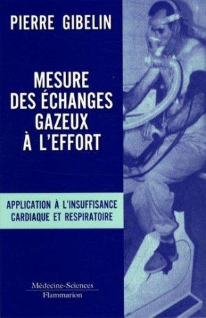 Mesure des échanges gazeux à l'effort - lavoisier msp - 9782257000729 -