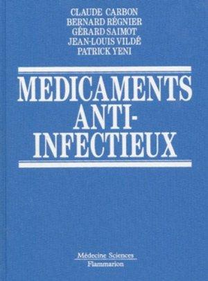 Médicaments anti-infectieux - lavoisier msp - 9782257155139 -