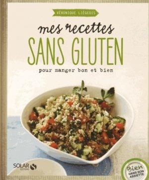 Mes recettes sans gluten - solar  - 9782263069772 -