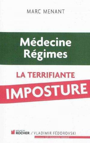 Médecine, régimes - du rocher - 9782268069777 -