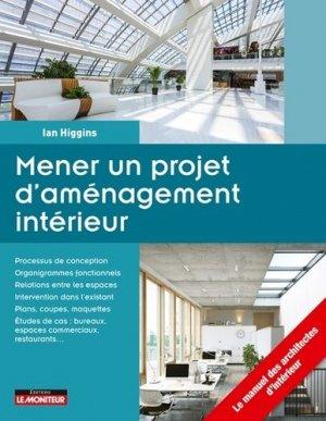 Mener un projet d'aménagement intérieur - le moniteur - 9782281119718 -