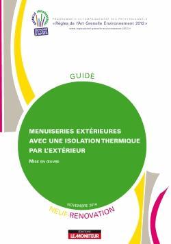Menuiseries extérieures avec une isolation thermique par l'extérieur - le moniteur - 9782281150155 -