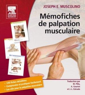 Mémofiches de palpation musculaire - elsevier / masson - 9782294721281 -