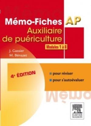 Mémo-fiches AP Modules 1 à 8 - elsevier / masson - 9782294736803 -