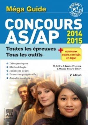 Méga guide Concours AS/AP-elsevier / masson-9782294742347