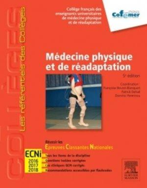 Médecine physique et réadaptation - elsevier / masson - 9782294742842 -
