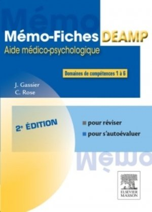 Mémo-fiches DEAMP - elsevier / masson - 9782294744853 -