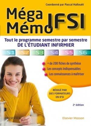 Méga Mémo IFSI - elsevier / masson - 9782294749247 -