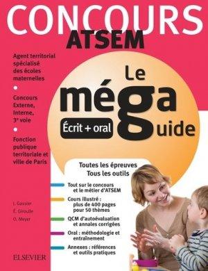 Méga Guide - Concours ATSEM - elsevier / masson - 9782294757402 -