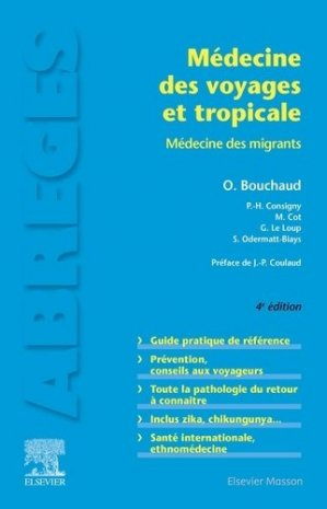 Médecine des voyages et tropicale - elsevier / masson - 9782294763823