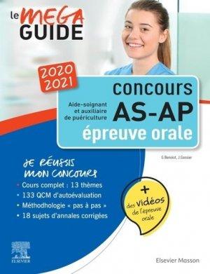 Méga Guide AS-AP 2020/2021 - Épreuve orale - elsevier / masson - 9782294766824 -
