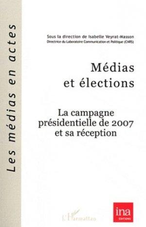 Médias et élections - l'harmattan - 9782296561977 -
