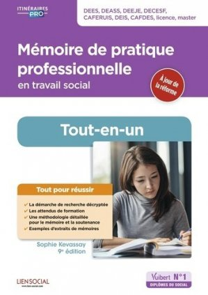 Mémoire de pratique professionnelle en travail social - vuibert - 9782311206838 -