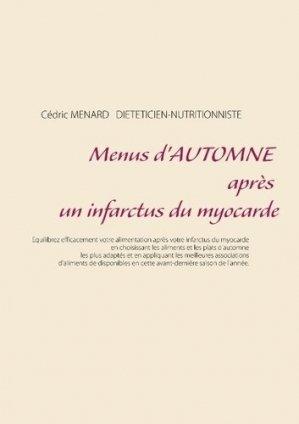 Menus d'automne après un infarctus du myocarde - Books on Demand Editions - 9782322145942 -