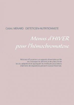 Menus d'hiver pour l'hémochromatose - Books on Demand Editions - 9782322147960 -