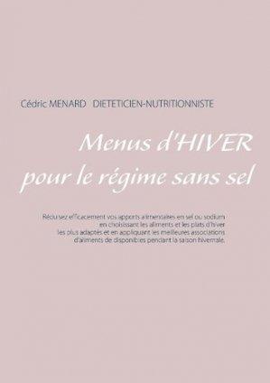 Menus d'hiver pour le régime sans sel - Books on Demand Editions - 9782322162314 -