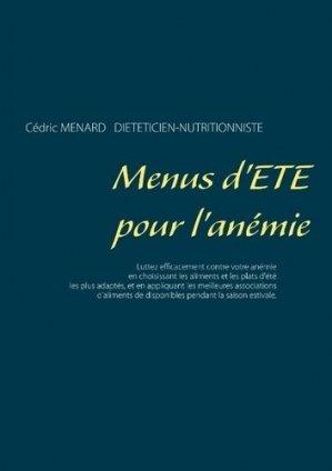 Menus d'été pour l'anémie - Books on Demand Editions - 9782322171736 -