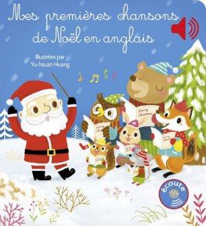 Mes premieres chansons de Noël en anglais - Gründ - 9782324017926 -
