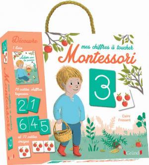 Mes chiffres à toucher Montessori - grund - 9782324017995 -