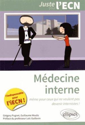 Médecine interne - ellipses - 9782340004993 -