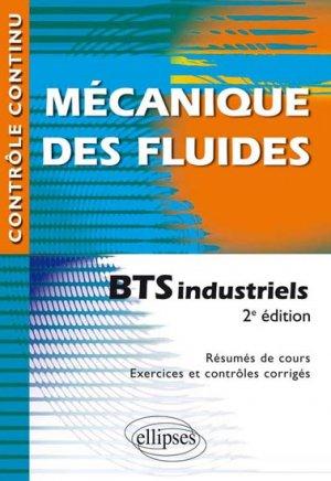 Mécanique des fluides - BTS industriels - ellipses - 9782340006690