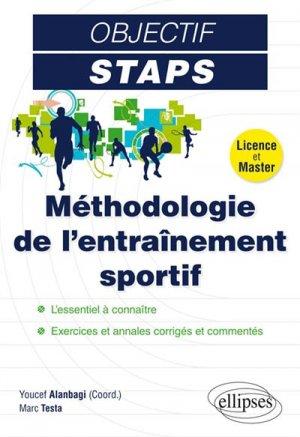 Méthodologie de l'entraînement sportif - ellipses - 9782340013001