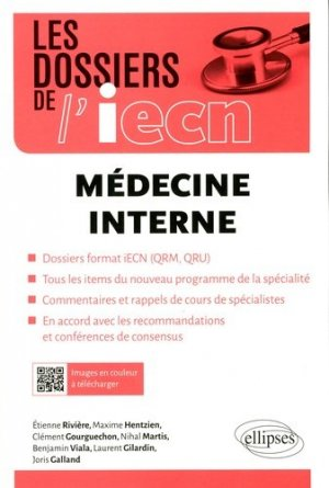 Médecine interne - ellipses - 9782340017702 -