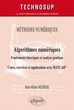 Méthodes numériques - ellipses - 9782340021860 -