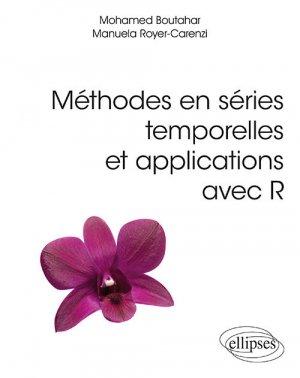 Méthodes en séries temporelles et applications avec R - ellipses - 9782340032996 -