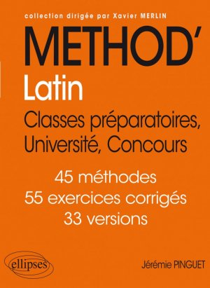 Méthod'Latin - ellipses - 9782340033733 -