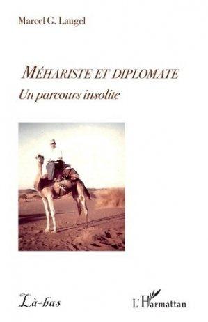 Méhariste et diplomate - l'harmattan - 9782343223629 -
