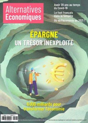 Mensuel n°408 Janvier 2021 - alternatives économiques - 9782352402763 -