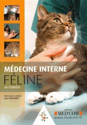 Médecine interne féline - med'com - 9782354032159 -
