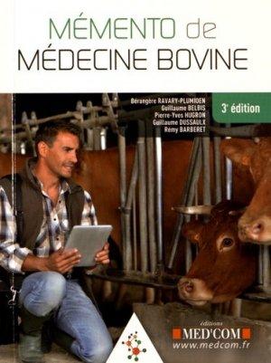 Mémento de médecine bovine - med'com - 9782354032371 -