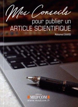 Mes conseils pour publier un article scientifique - med'com - 9782354032807 -