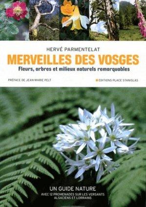 Merveilles des Vosges - place stanislas - 9782355780899 -