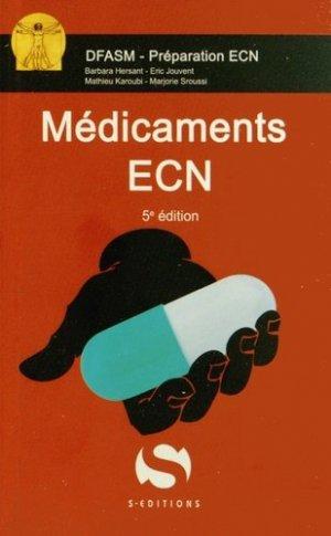 Médicaments ECN - s editions - 9782356401120 -