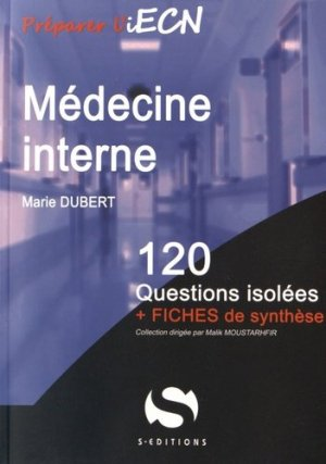 Médecine interne - s editions - 9782356401489 -